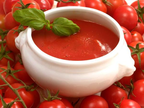 Tomaten suppe