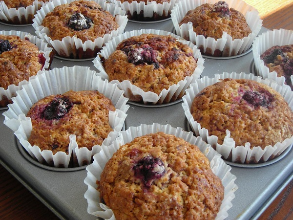 himbeer muffin